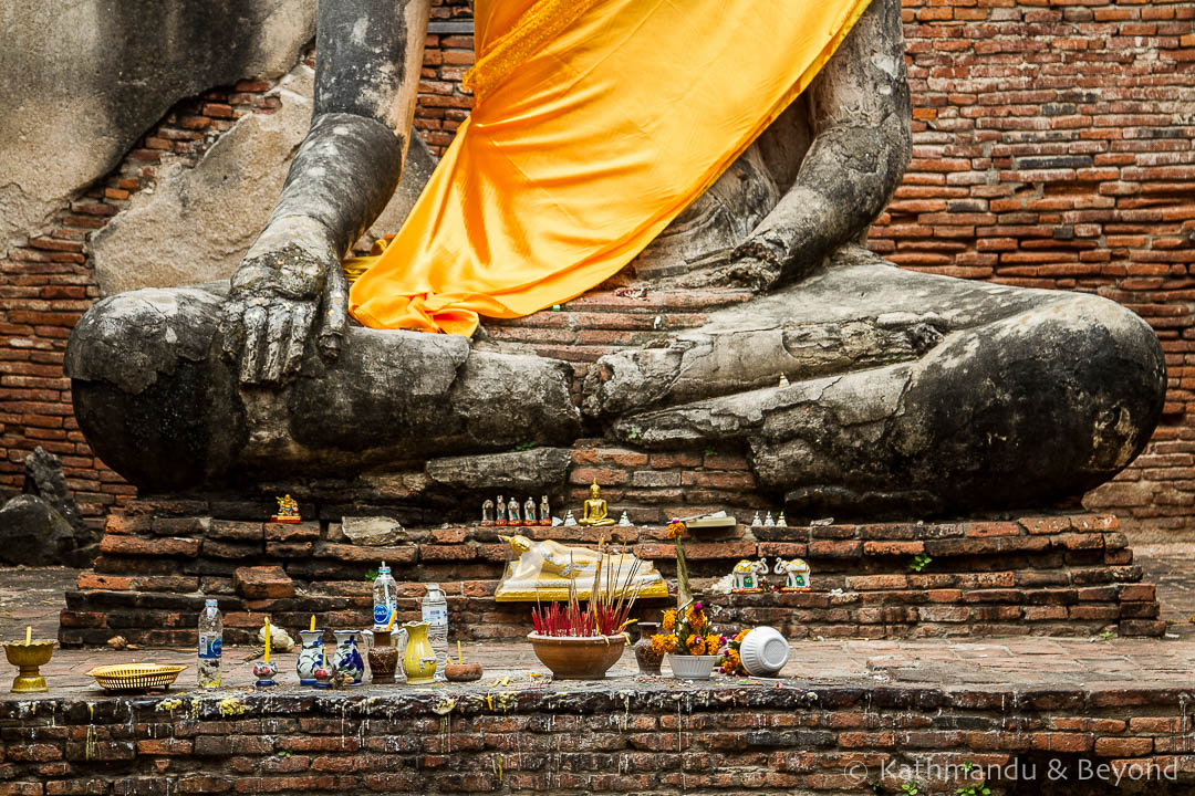 Wat Worachettharam Ayutthaya Thailand (3)