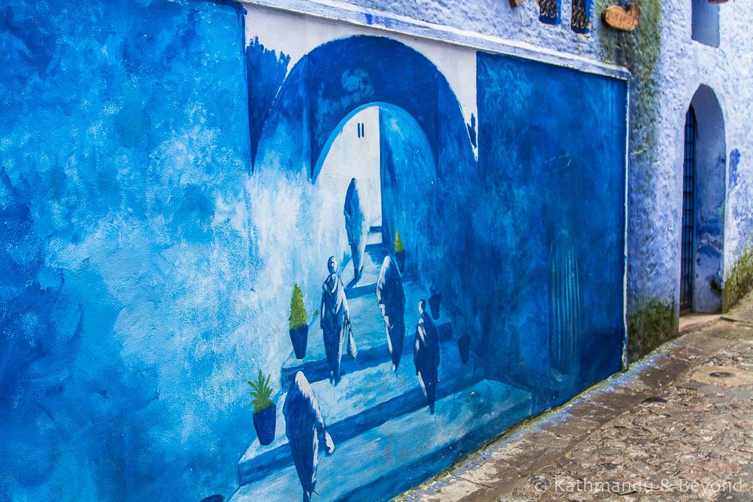 Street Art Medina Chefchaouen Morocco