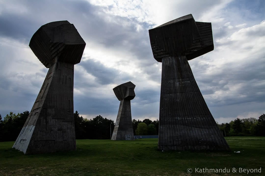 Bubanj Memorial Park (The Three Fists) Nis Serbia-6
