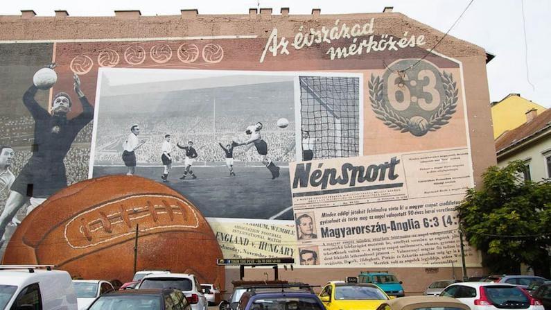 Budapest Street Art Match of the Century