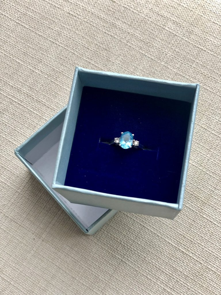 Topaz and Diamond Ring from Super Jeweler