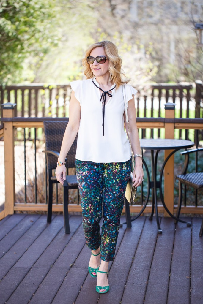 Perfectly Printed Trousers by Kathrine Eldridge, Wardrobe Stylist
