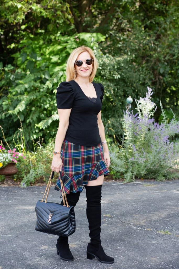 Back to School Plaid by Kathrine Eldridge, Wardrobe Stylist