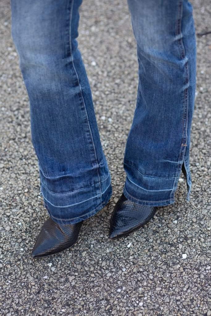 DL 1961 Bridget High-Rise Flare Jeans