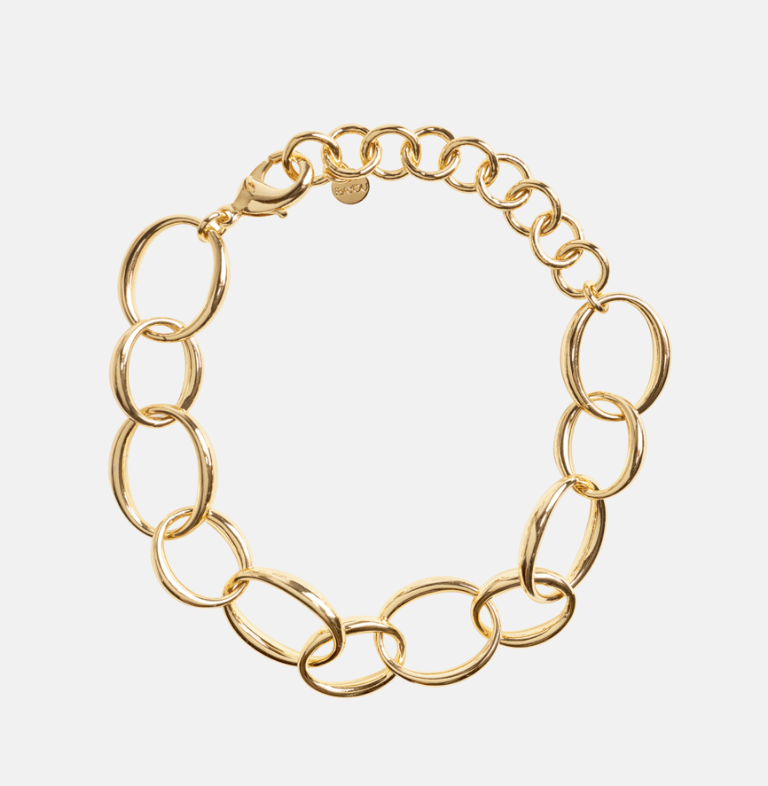 BaYou with Love Oval Chain Bracelet from the Spring Box of Style