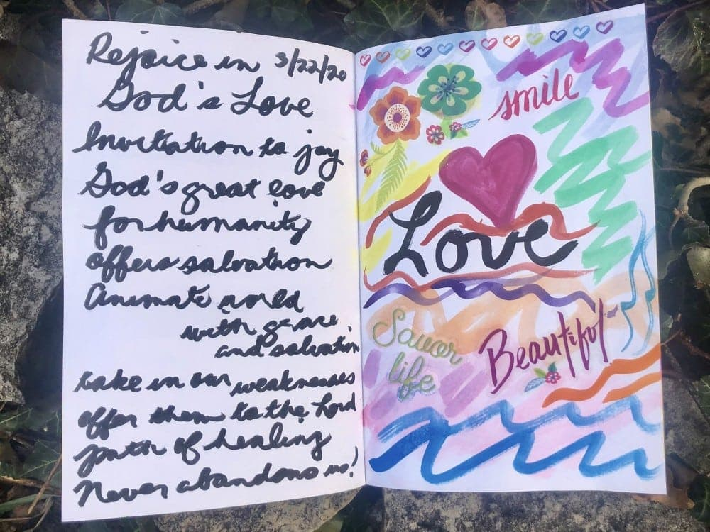 Lenten Journal Lessons by Kathrine Eldridge, Wardrobe Stylist
