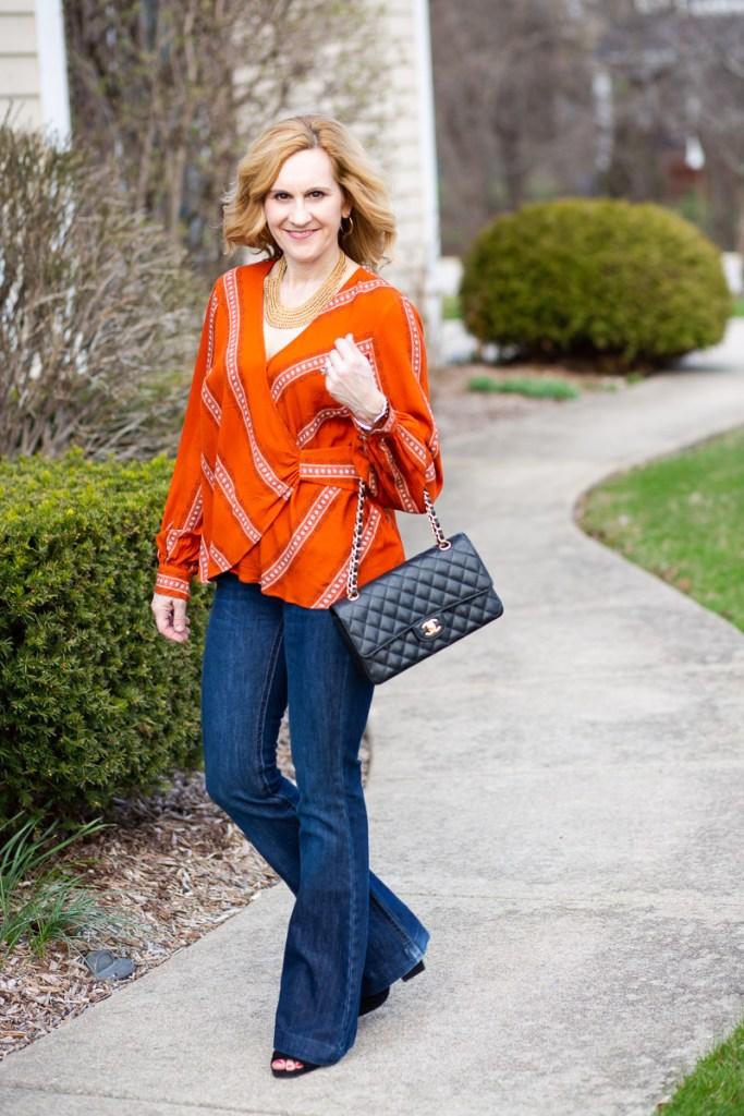 Orange Crush by Kathrine Eldridge, Wardrobe Stylist