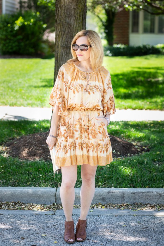 Flutter Sleeve Mini Dress by Spell & the Gypsy Collective