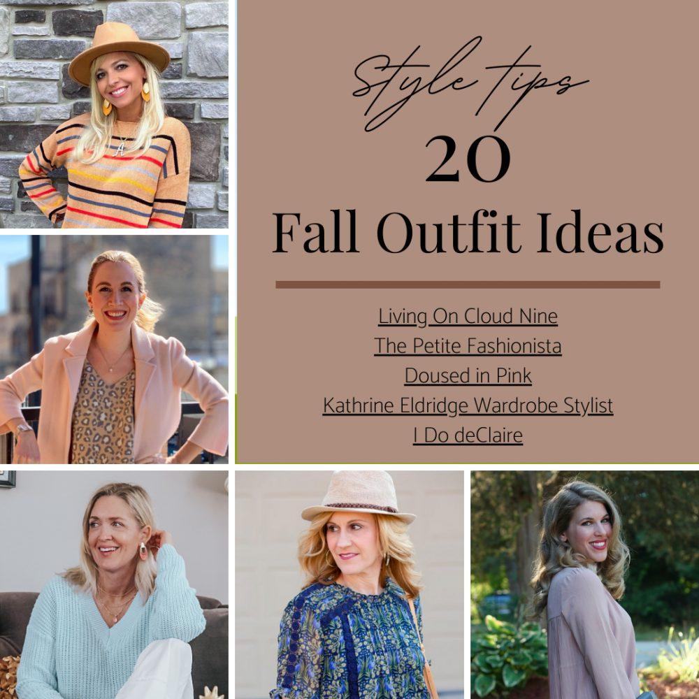 Style Tips - 20 Fall Outfit Ideas by Kathrine Eldridge, Wardrobe Stylist