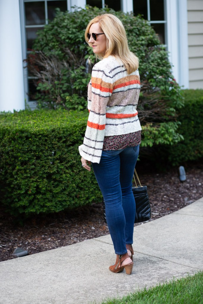Wearing the Neapolitan Tie-Front Sweater by Saltwater Luxe.
