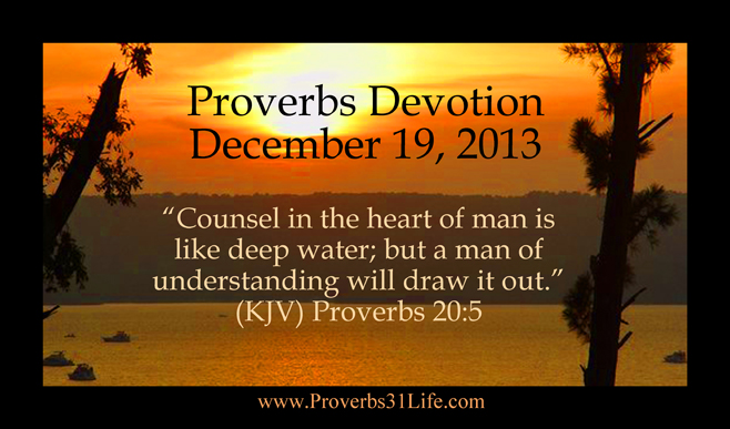 Proverbs Devotion