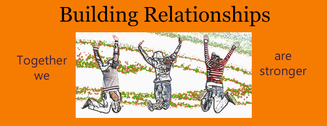 building relationships - 3-7-13