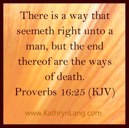 Proverbs 16:25