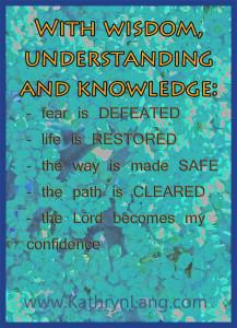 Proverbs 3 Wisdom Knowledge Understanding