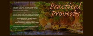 Practical Proverbs – Intro