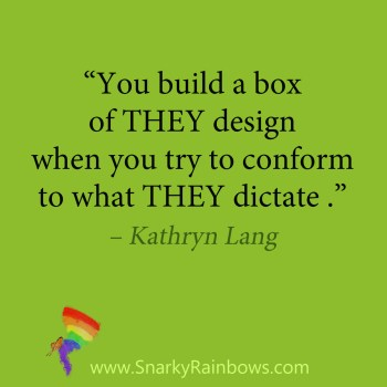 Quote - box of they design