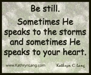 2-10-15 Be still
