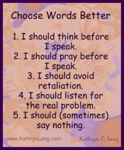 choose words better