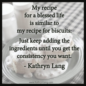 7-22-16 recipe for life
