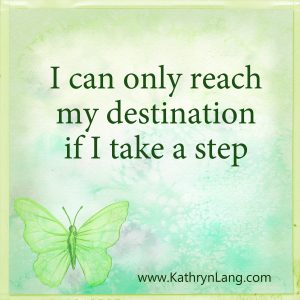 quote of the day - Just one step