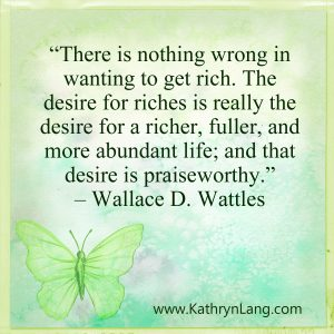 Quote of the Day - Desire for Riches