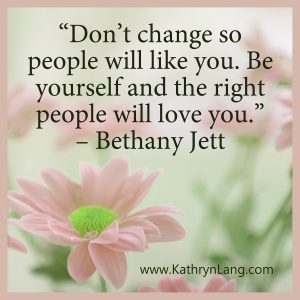 Quote of the day - be yourself