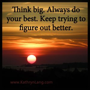 Quote of the Day - think big