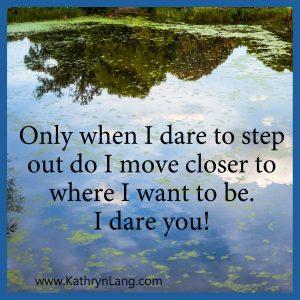Taking the Dare