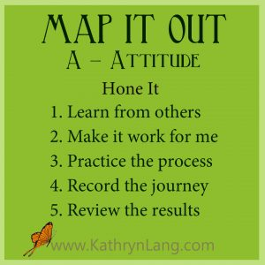 #GrowingHOPE podcast - MAP IT OUT - Attitude - Hone It
