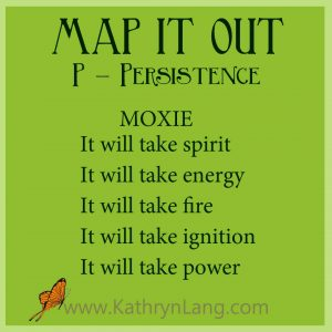 MAP IT OUT - Persistence - Moxie