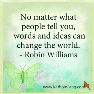 Quote of the Day - Change the World