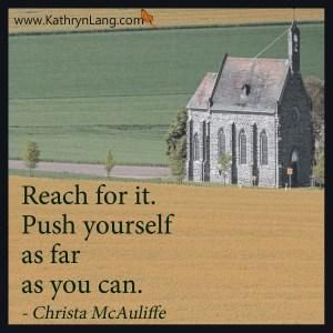 Quote of the Day - Reach for It