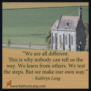 Quote of the day - Make our own way
