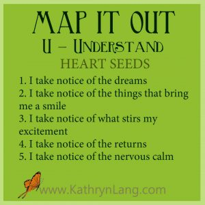 #GrowingHOPE - MAP IT OUT - Understand Heart Seeds