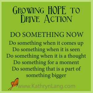 #GrowingHOPE podcast - Do Something Now