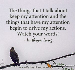 Quote of the Day - Watch Your Words
