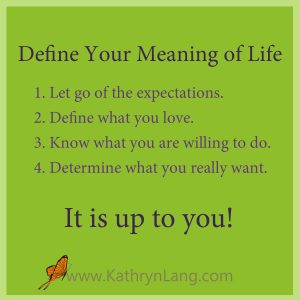 Tips - meaning of life