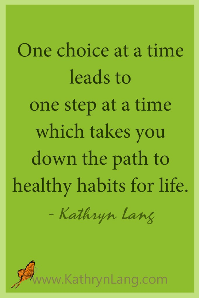Healthy Habits One Step at a Time