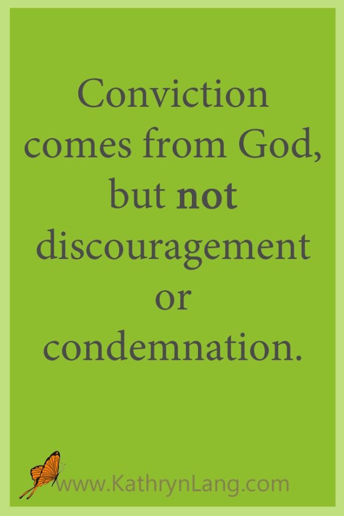 Conviction not guilt