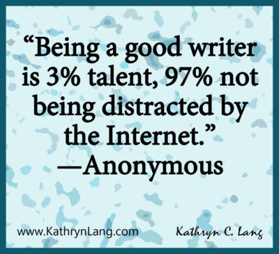 NaNoWriMo helps with being a good writer