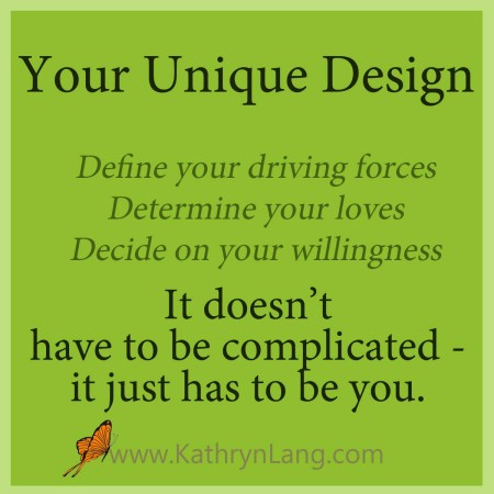 define your unique design