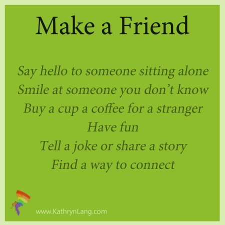 how to make a friend