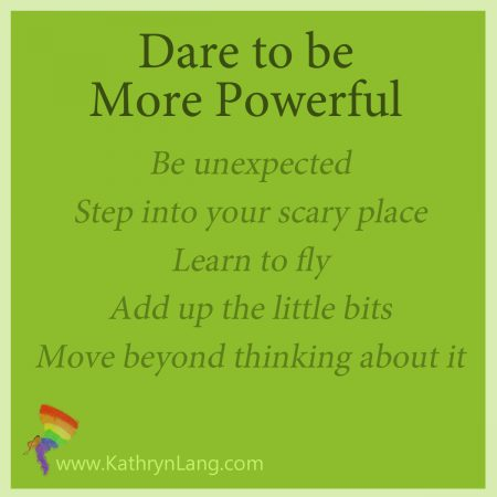 Be more powerful