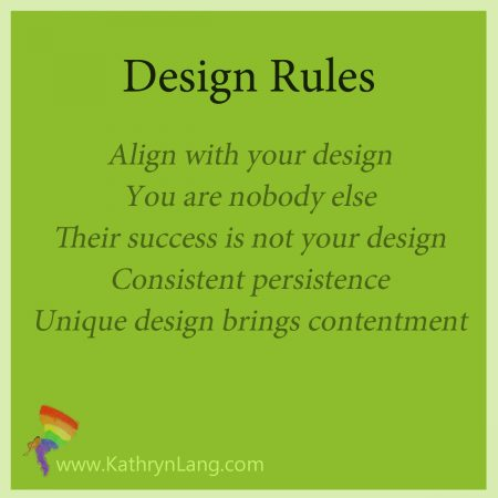 Define Your unique design rules