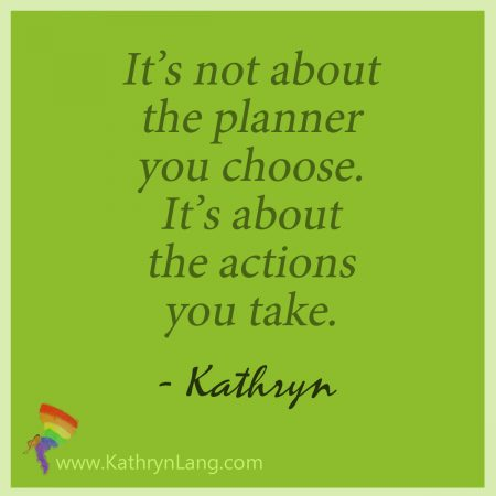 the right planner works for you