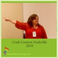 speaking craft content 2018