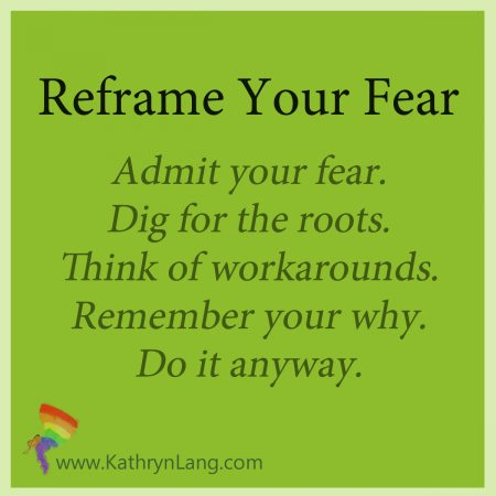 reframe your fears