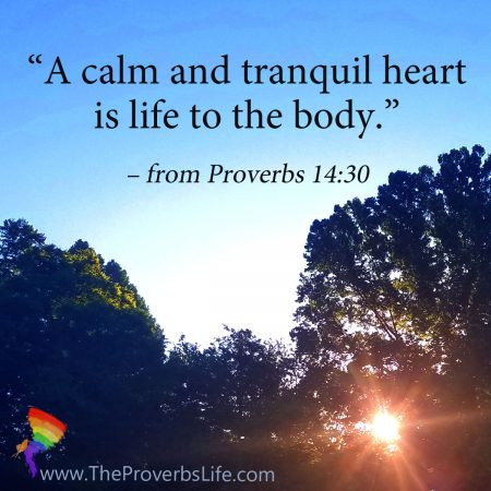 Proverbs shares the power of rest
