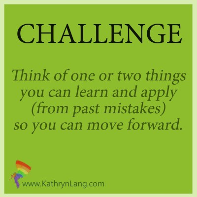 Daily challenge - learn from mistakes