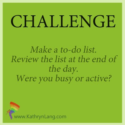 Daily challenge - make a list